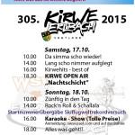 Programm Kirwepark 2015