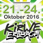 Ankündigung Erlbacher Kirwe 2016