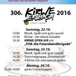 Programm Kirwepark 2016