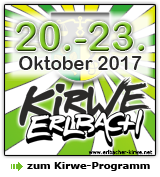 Erlbacher Kirwe - Programm 2017
