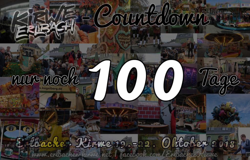 Erlbacher Kirwe 2018 - nur noch 100 Tage