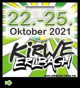 Erlbacher Kirwe - Programm 2021